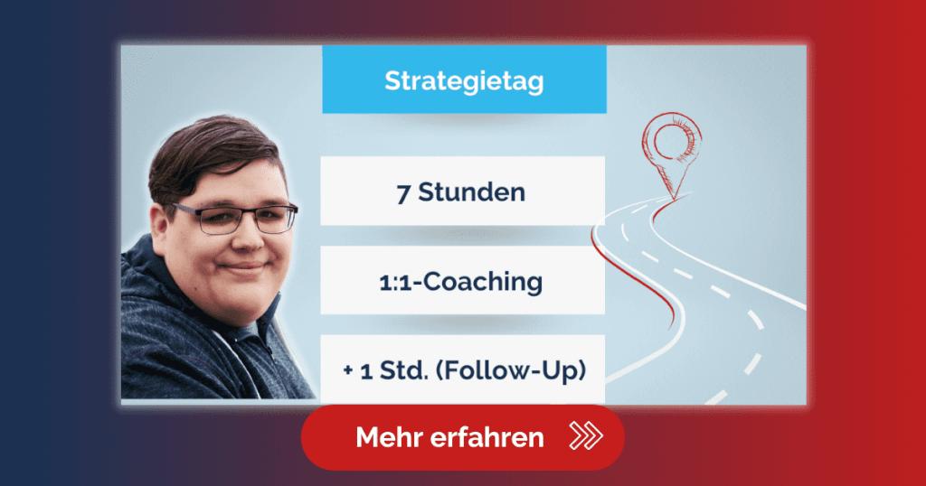 Werbung Blog Strategietag