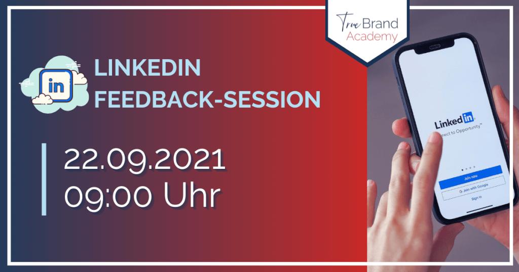 LinkedIn-Feedback-Session (22.09.2021)