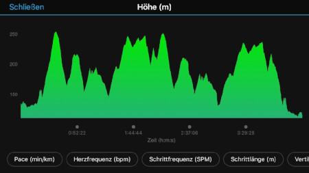 lipperland marathon streckenprofil