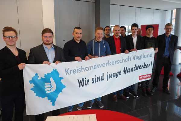 Gesellenfreisprechung der Sparkasse Vogtland Plauen