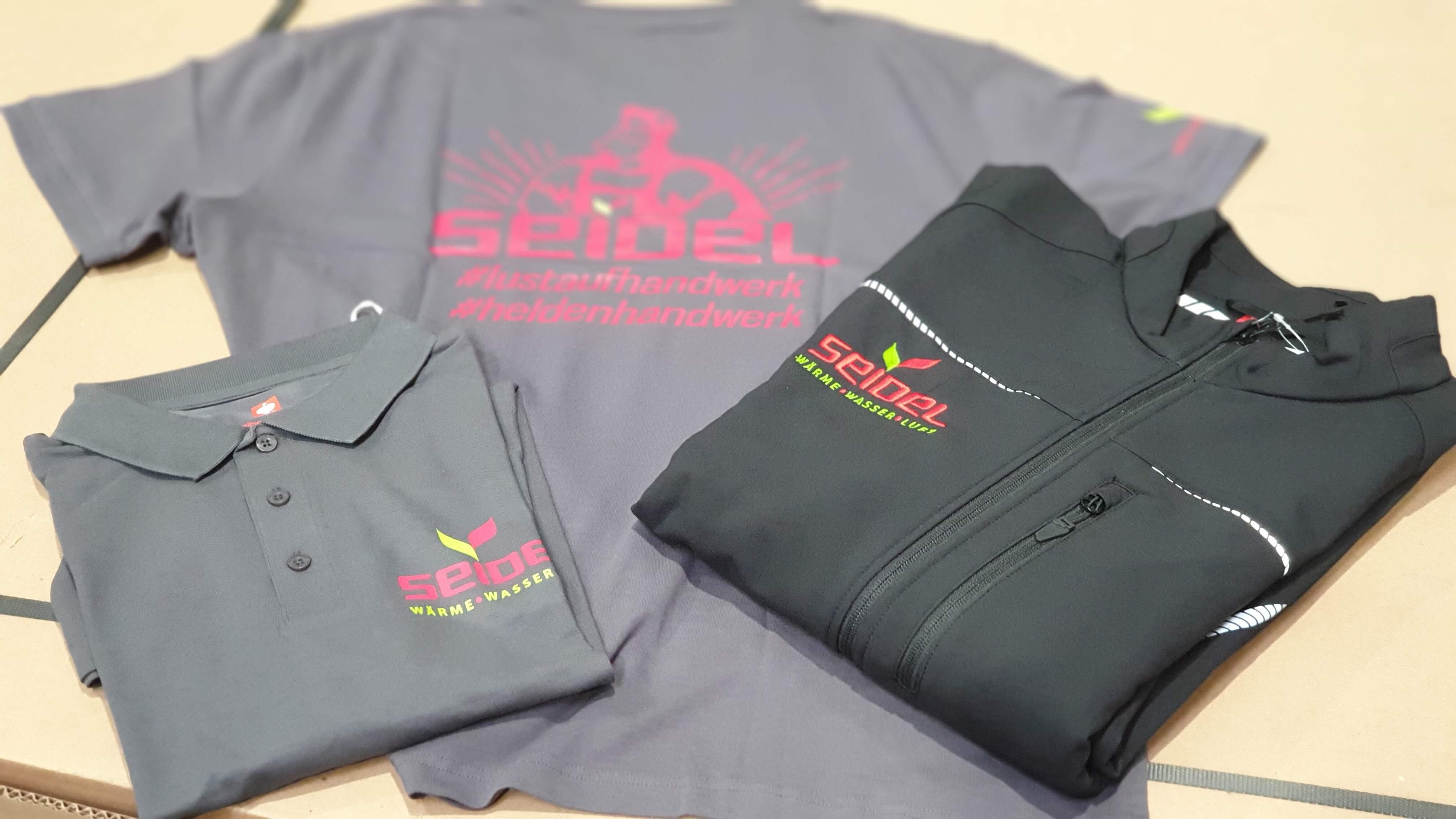 Neue Kleidung für das Seidel-Team