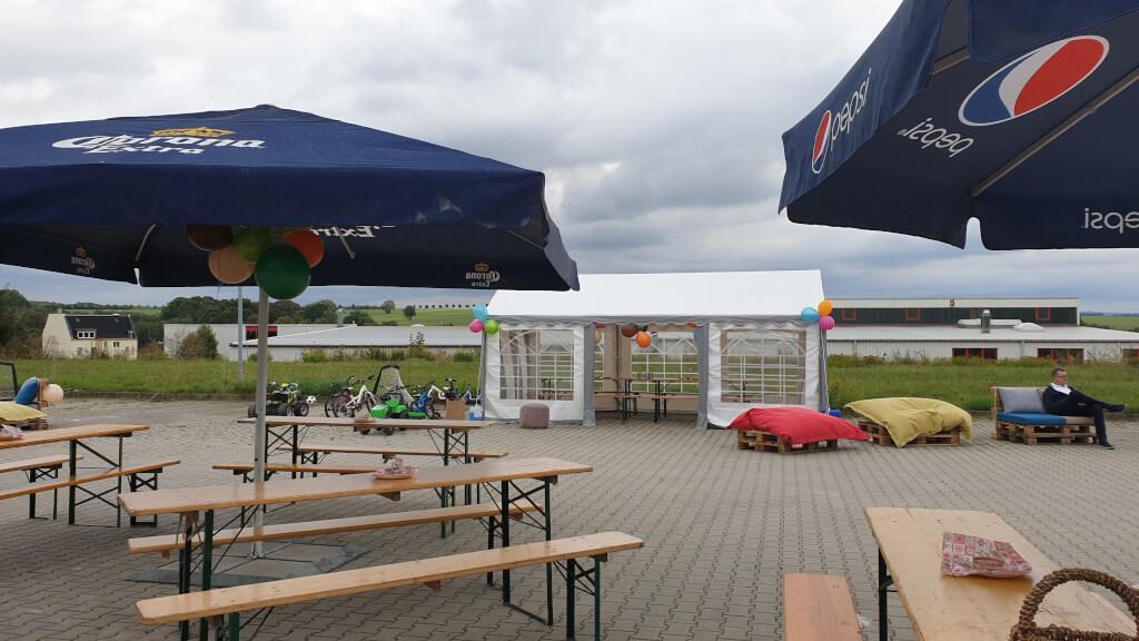 Gemütliches Sommerfest für das ganze Team bei Seidel Heizung & Bad