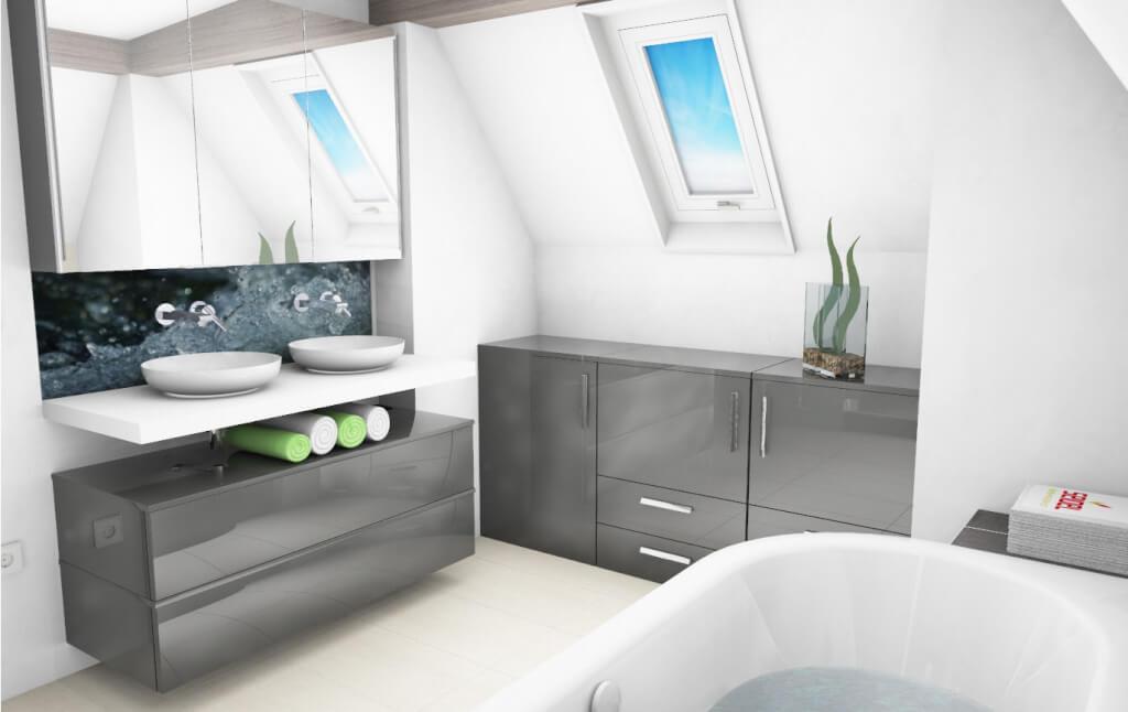3D-Badplanung: Im Badezimmer stehen, bevor es gebaut ist