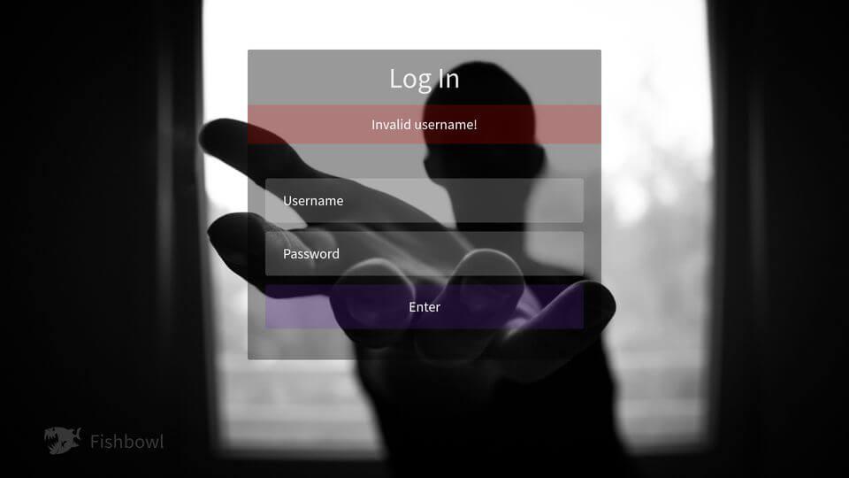 daniel biegler fucss login invalid username