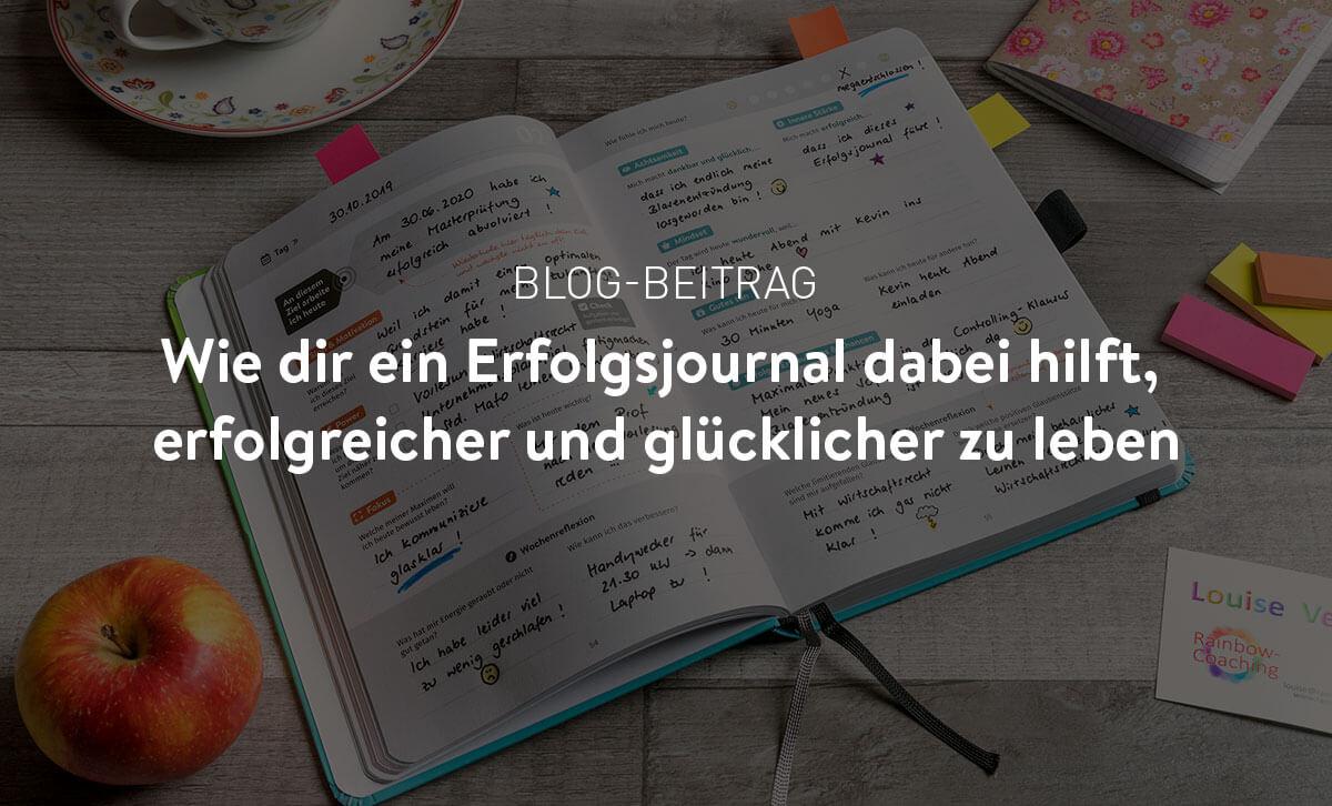 Erfolgsjournal Mein Wegbegleiter Start Your Passion