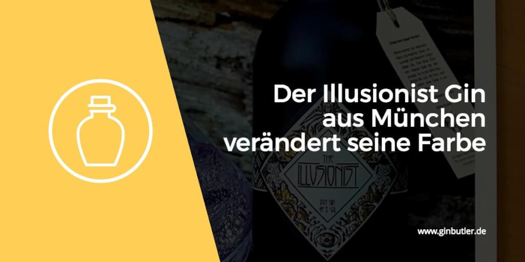 Der Illusionist Gin verändert mit Tonic seine Farbe