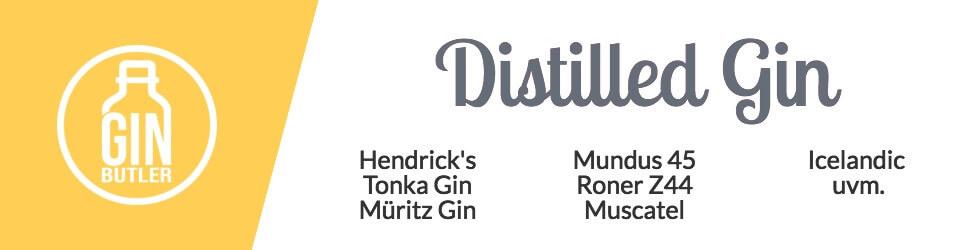 Gin Sorten Distilled Gin