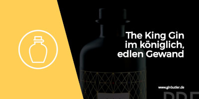 The King Gin im königlich edlen Gewand