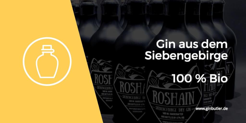 Roshain Gin - der Jungfrau nach ein sagenhafter Gin