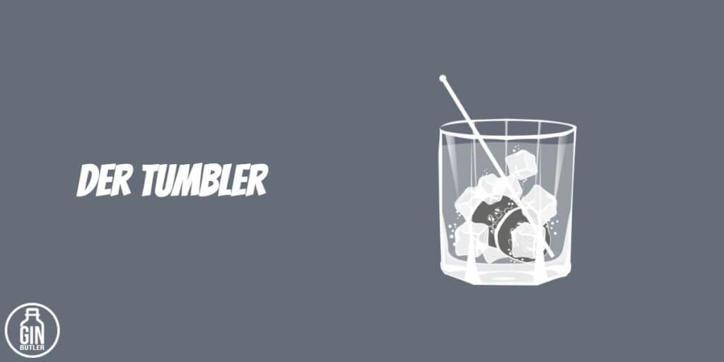Gin Glas   Tumbler Gin Butler 1