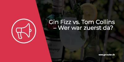 Gin Fizz vs. Tom Collins – Wer war zuerst da?