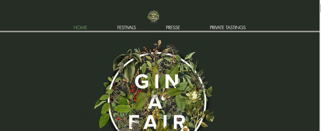 Gin Festival Gin a Fair 1