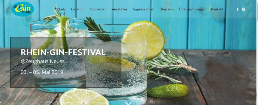 Gin Festival Rhein Gin Festival 1
