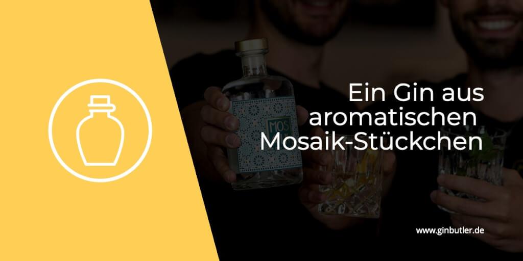 Ein Gin aus aromatischen Mosaik-Stückchen!