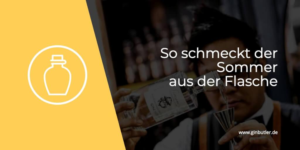 Frisch und blumig präsentiert der Simon's Sommergarten Gin den Sommer!