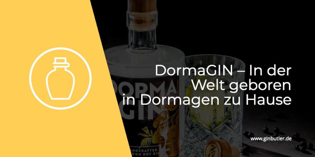 Der DormaGIN – In der Welt geboren, in Dormagen zu Hause