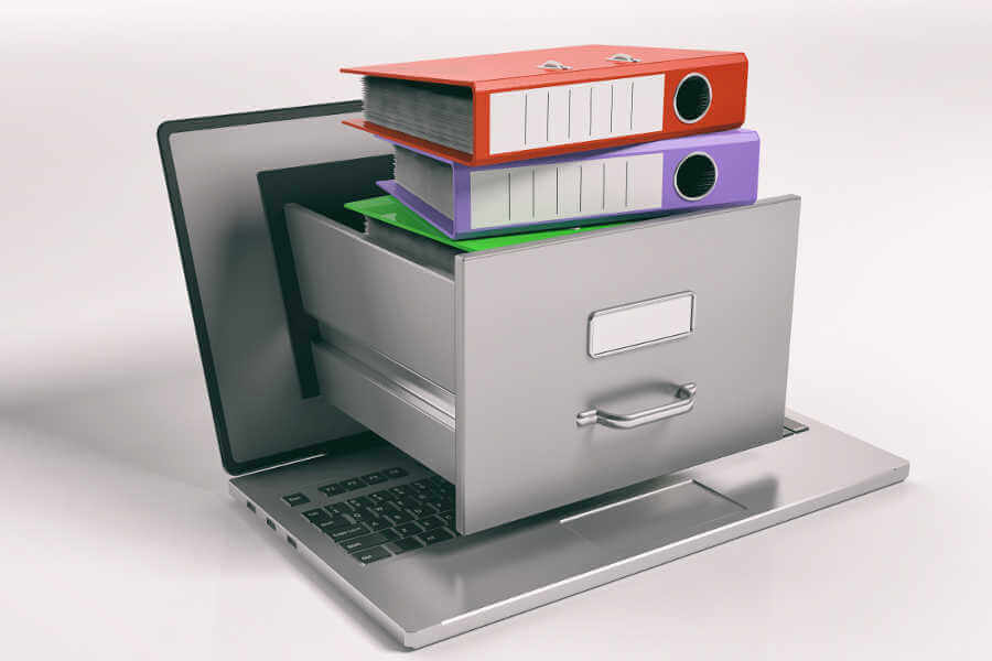 Mail- und Fileserver - Archivierung kann Ihre Effektivität im Arbeitsalltag steigern.
