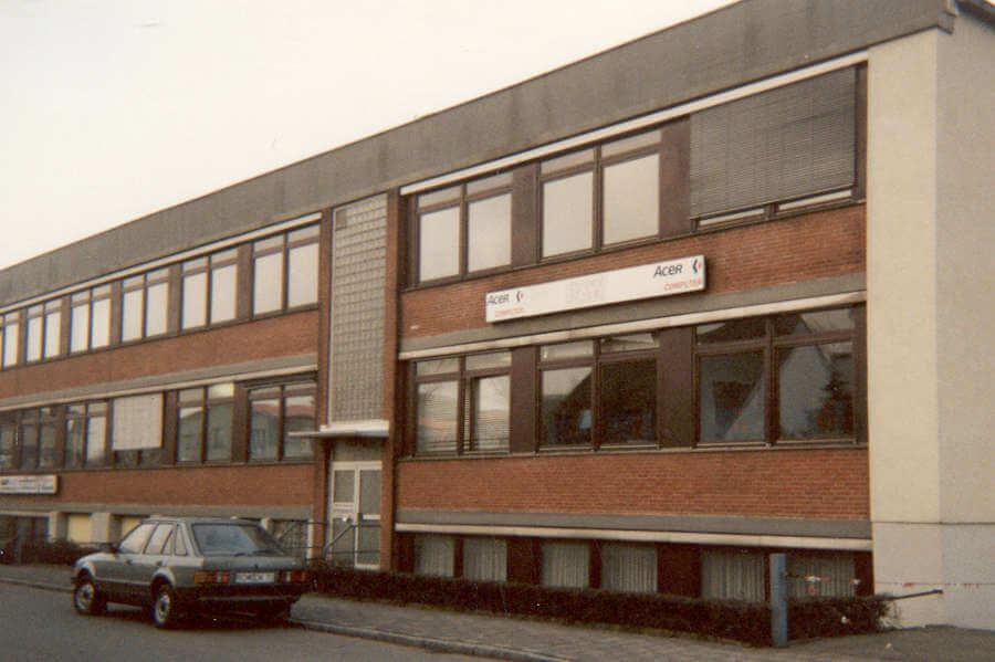 Firmengebäude von BASYS in der Insterburger Str. in Bremen.