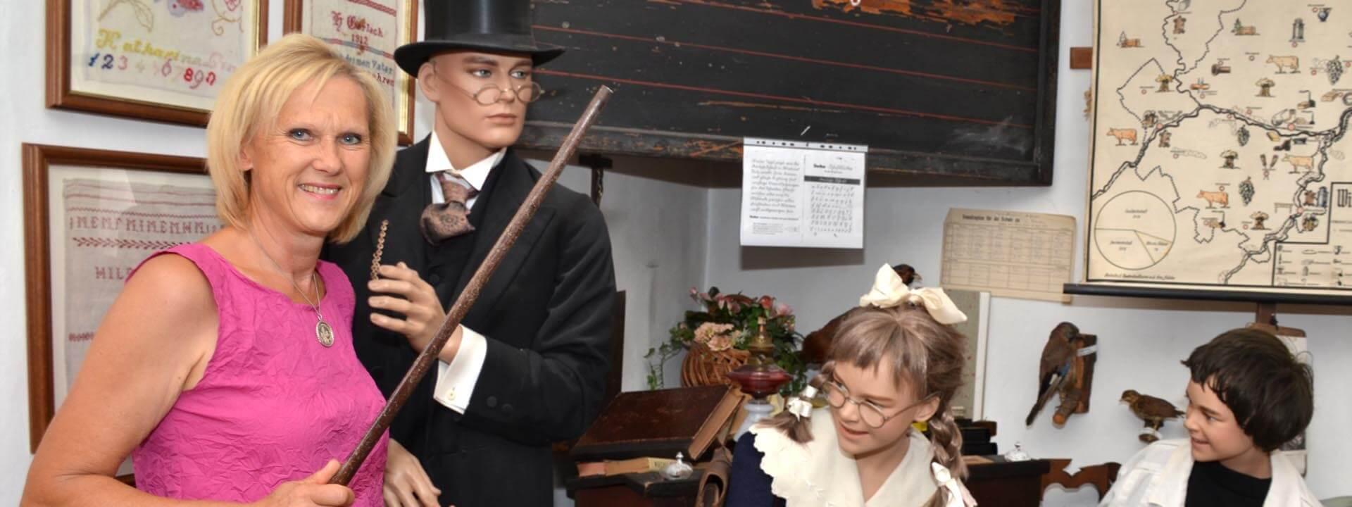 Ins Heimatmuseum Stromberg darf man eintauchen
