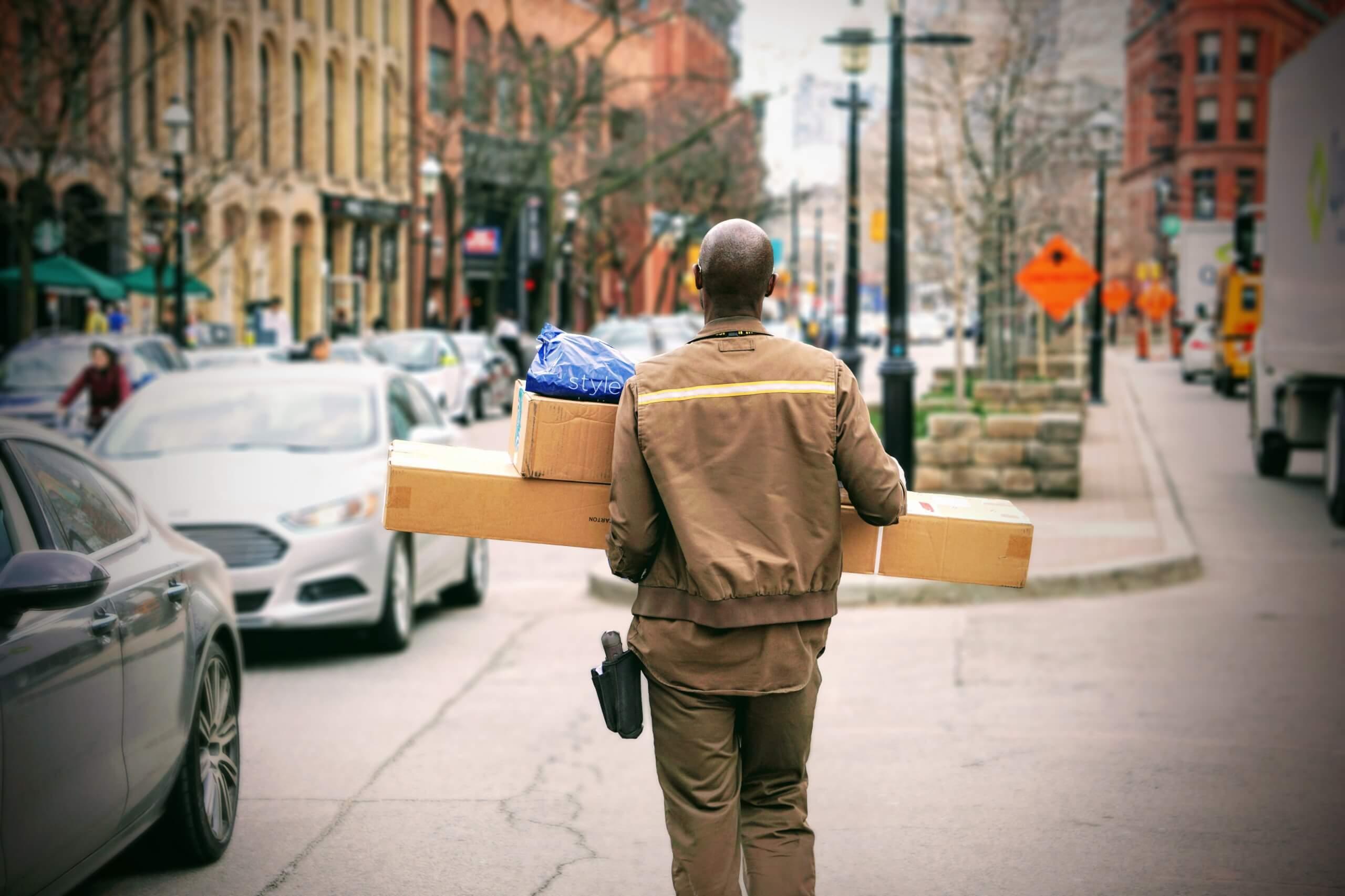 lieferung pakete
