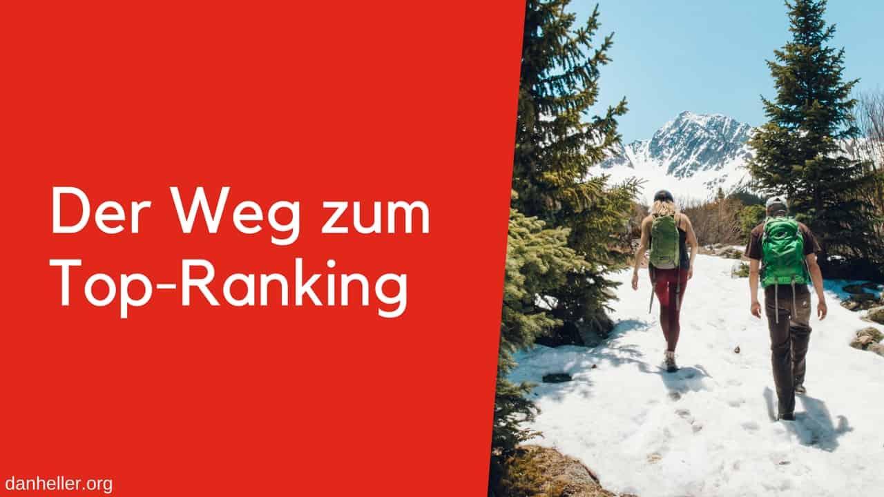 Auf dem Weg zum Top Ranking 1