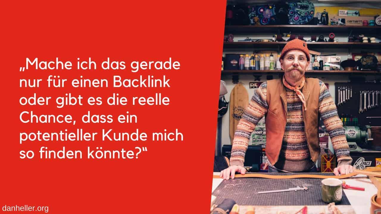 Backlink Frage