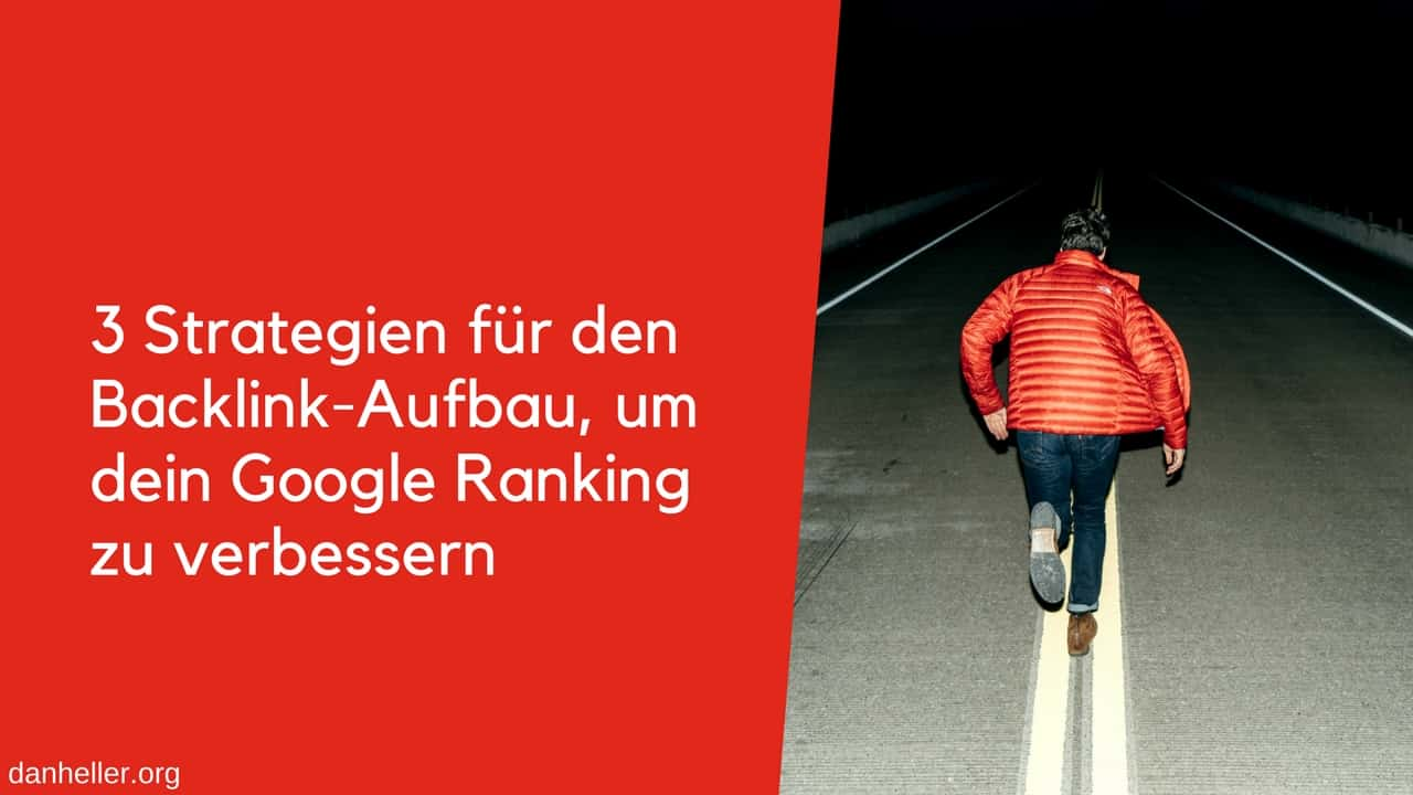 Backlink Strategie drei