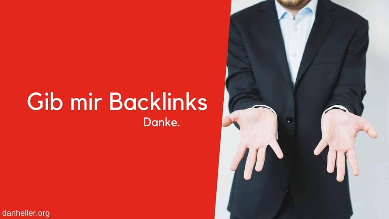 Backlinks Bitte Danke