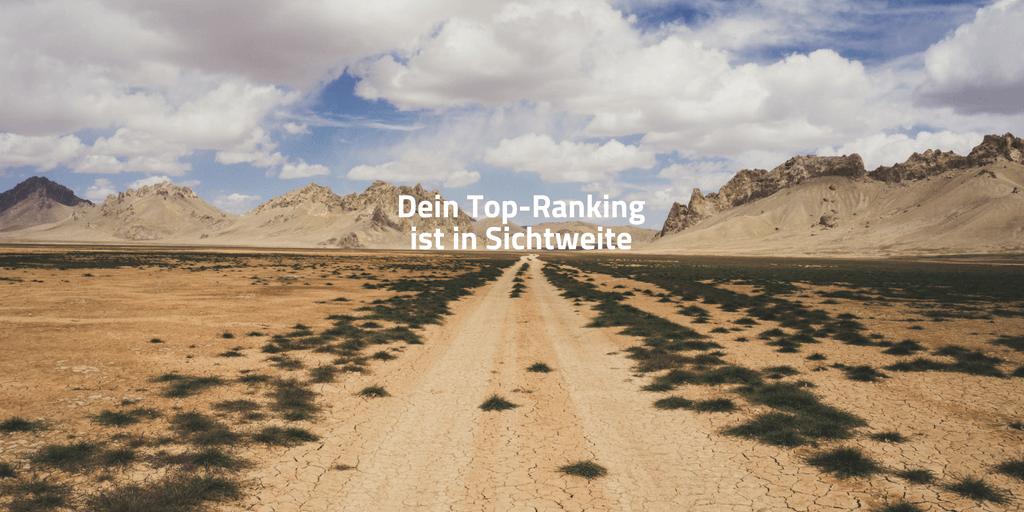 Top Ranking ist in Sichtweite
