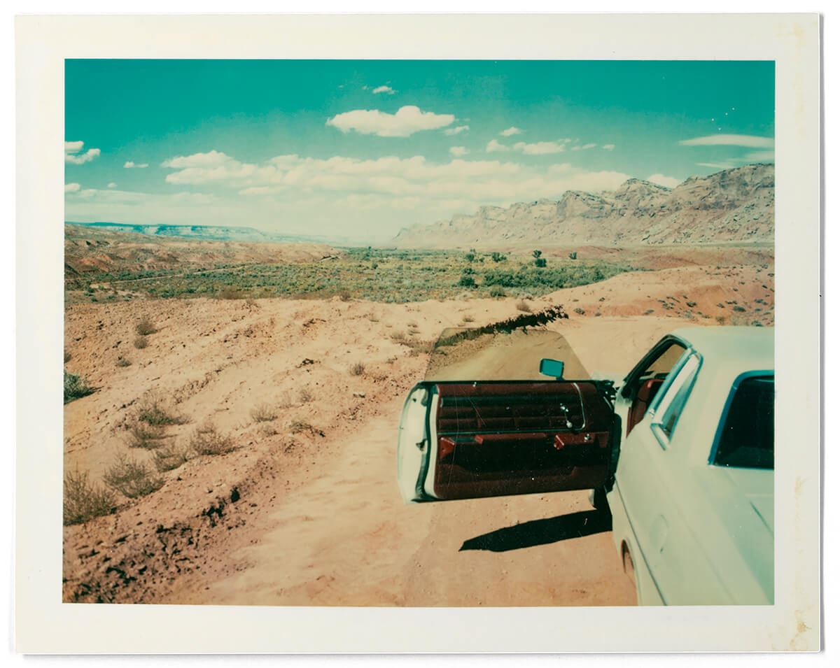 01  Press Images l Wim Wenders l Valley of the Gods Utah 1977