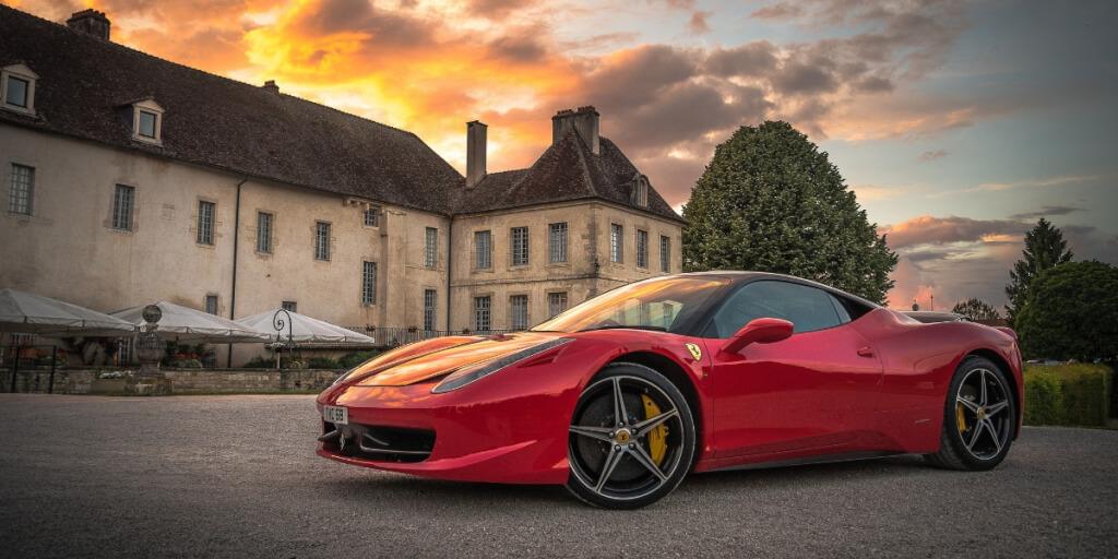 Der Ferrari ist gespart!