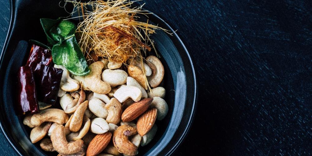 Nüsse sind ein gesunder und leckerer Snack