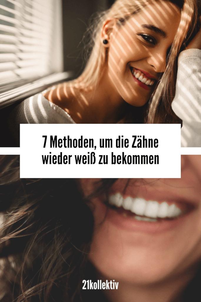 Natürliches Zahnbleaching: 7 Methoden, um die Zähne aufzuhellen