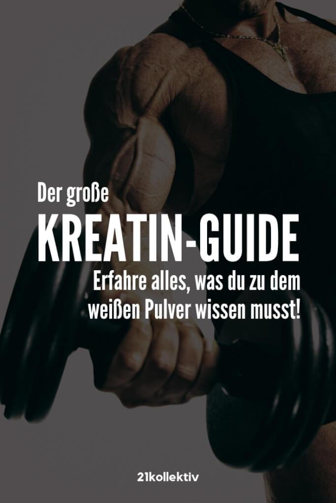 Kreatin-Guide: Alles was du über das weiße Pulver wissen musst