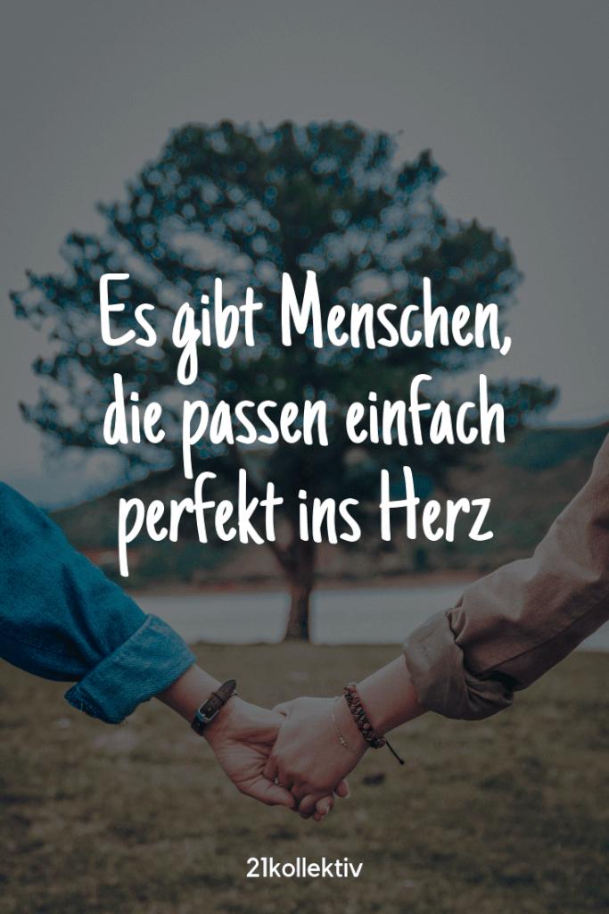 Es gibt Menschen, die passen einfach perfekt ins Herz! #lieblingsmensch | 21kollektiv
