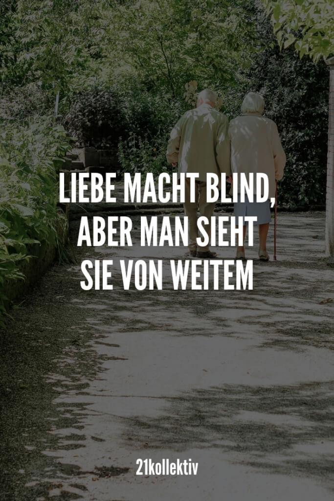 Liebe macht blind, aber man sieht sie von Weitem. | 21kollektiv