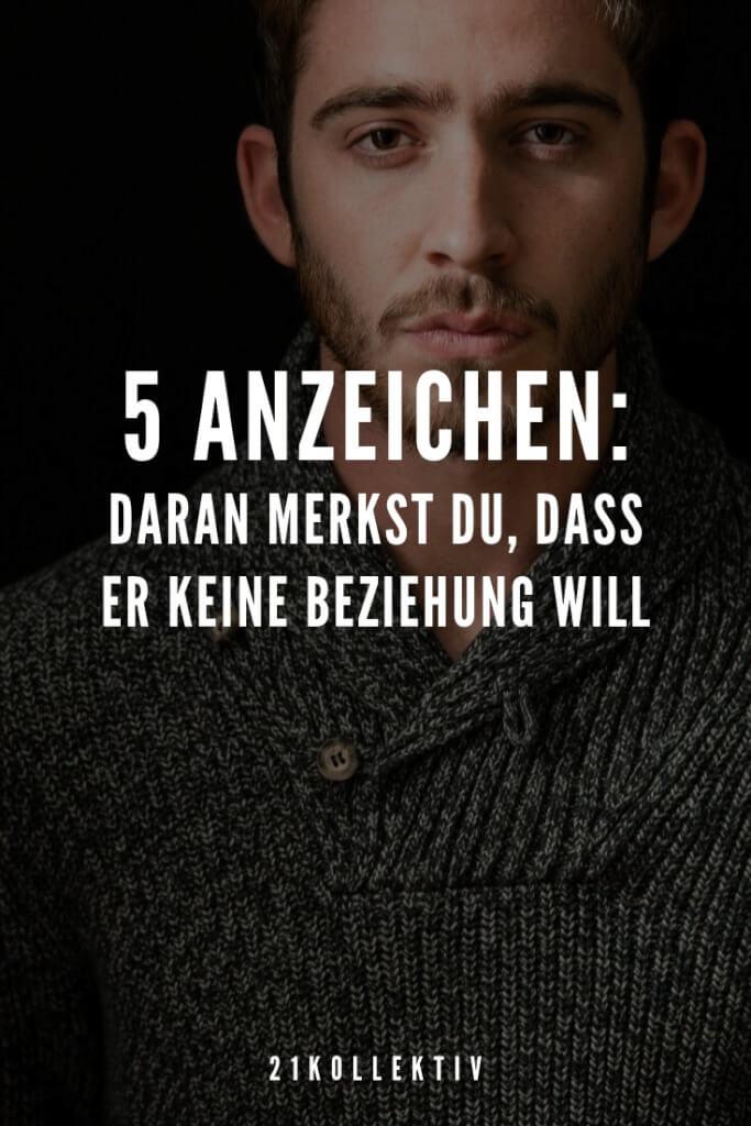 5 Anzeichen: Daran merkst du, dass er keine Beziehung will | 21kollektiv