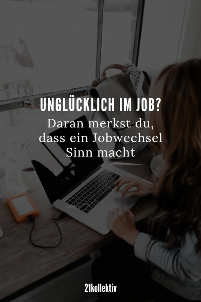 5 Warnzeichen dafür, dass du einen neuen Job brauchst | 21kollektiv