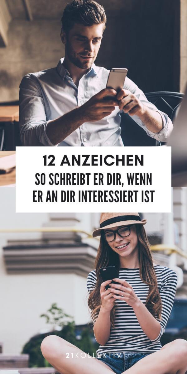 12 Anzeichen: So schreibt er dir, wenn er an dir interessiert ist | 21kollektiv