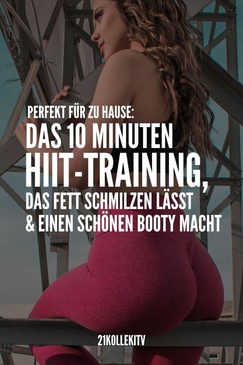 Das 10 Minuten HIIT-Workout, dass dir beim abnehmen hilft | 21kollektiv