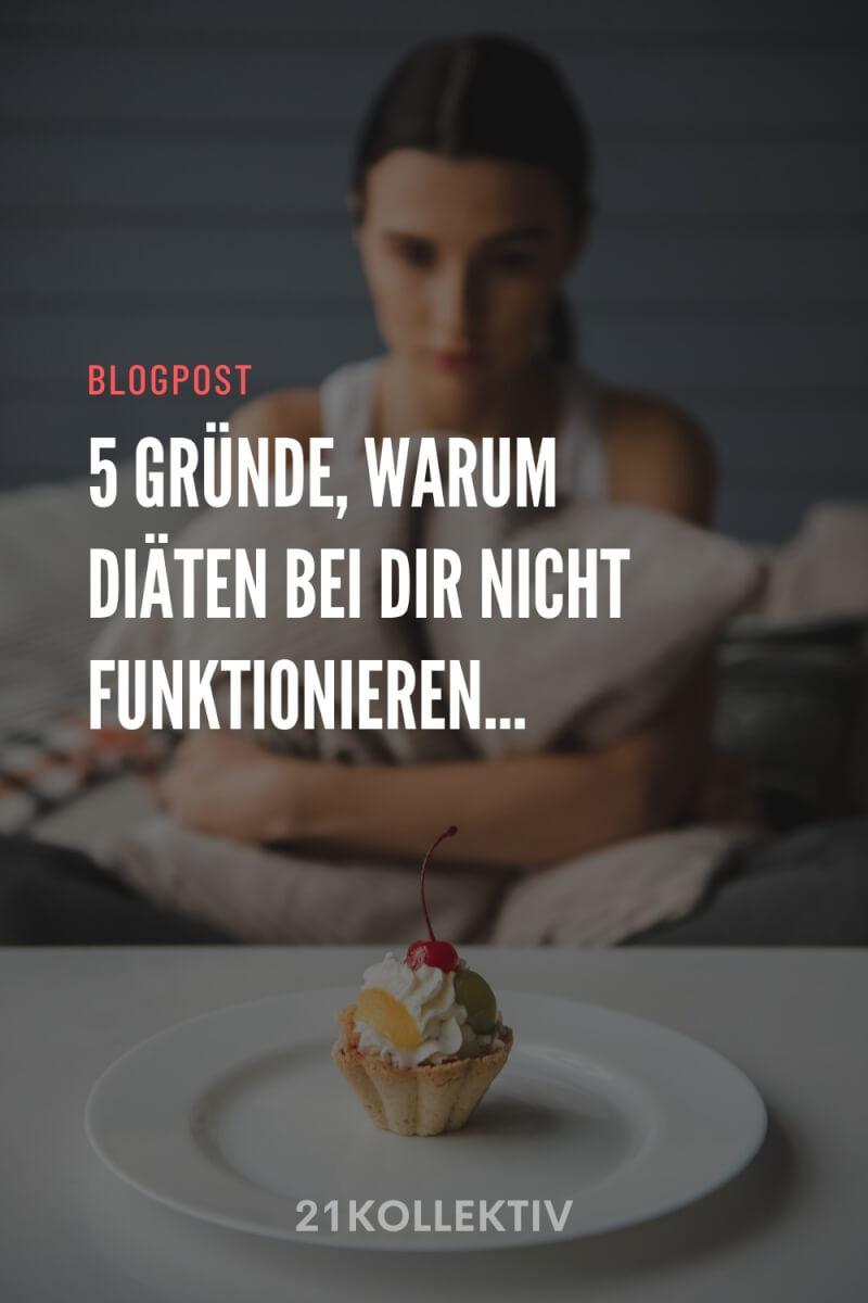 5 Gründe, warum Diäten nicht funktionieren & was du stattdessen machen solltest