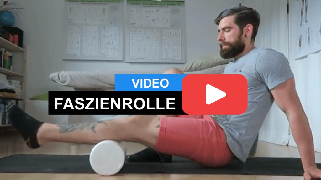 Muskelkater Regeneration - Muskelkater vorbeugen und Regeneration verbessern mit der Faszienrolle