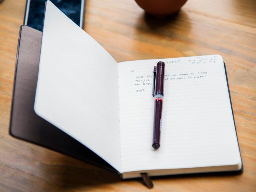 Buch planen, mit optimalem Zeit -Bedarf und den richtigen Wörtern.