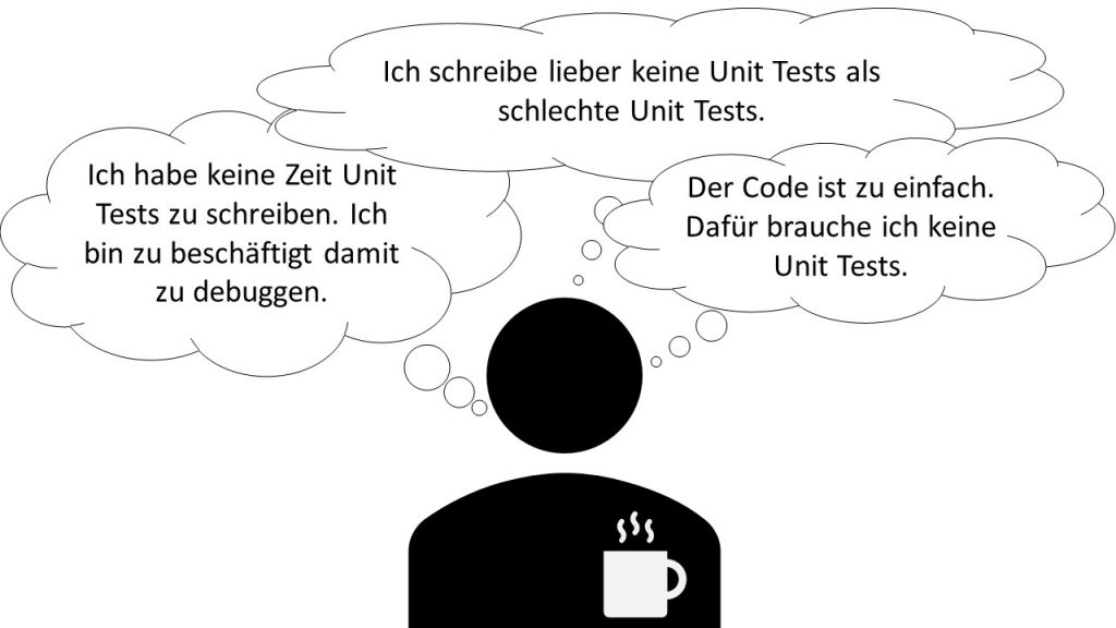 Gängige Probleme mit und Gründe gegen Unit Tests