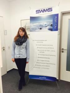 Studentin Jana Gerdes bei SWMS