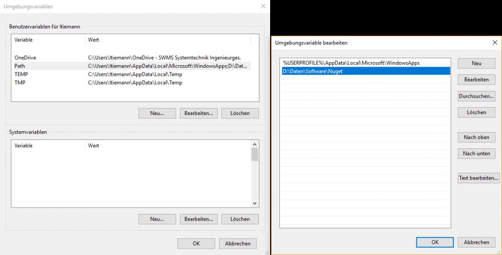 Erstellung von NuGet Paketen