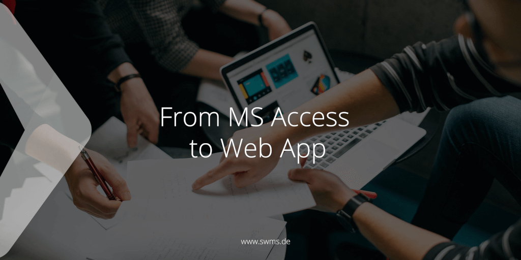 From MS Access to Web App