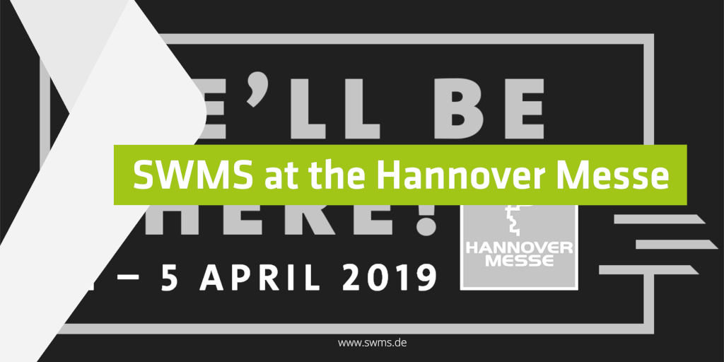 SWMS Consulting at the Hannover Messe 2019