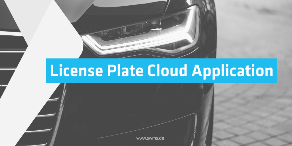 Cloud application for vehicle registration services