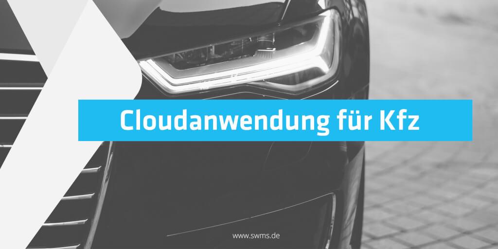 Cloudanwendung für Kfz-Zulassungsdienste